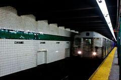 New York City Subway Train Stock Photos