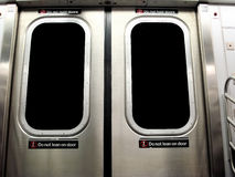 New York City Subway Train Royalty Free Stock Photos