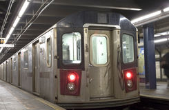 New York City Subway train Royalty Free Stock Photography