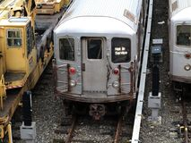 New York City Subway Trains Royalty Free Stock Images