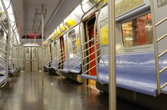 New York City Subways Stock Photography