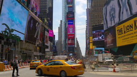 New york city summer day times square famous tourist place view 4k usa. Usa new york city summer day times square famous tourist place view 4k stock video footage