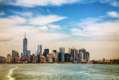 New York City on a sunny day Stock Images