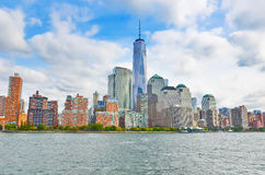 New York City in a sunny day. Royalty Free Stock Photos