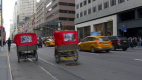 New york city sunset evening street traffic 4k usa. Usa new york city sunset evening street traffic 4k stock video footage