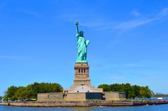 New York City Symbol The Statue Of Liberty stock photos