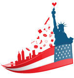 New york city symbol Stock Images