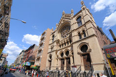 New York City Synagogue Royalty Free Stock Image