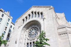 New York City synagogue Royalty Free Stock Photos