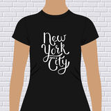New York City t-shirt design Royalty Free Stock Photos