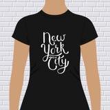 New York City t-shirt design Royalty Free Stock Photos