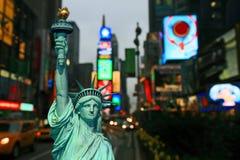New York City - Tag und Nacht Stockbild