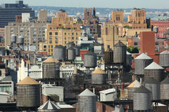 New York City tak 3 Royaltyfri Bild