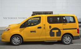 New York City Taxi Stock Image