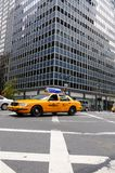 New York City Taxi, yellow cab. The New York City Taxi October 23, 2010 in New York City, Third Ave Stock Image