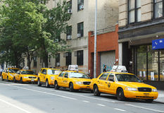 New York City Taxis Royalty Free Stock Photography