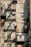 New York City Tenement Building Stock Images