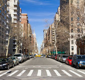New York City 5th Ave Traffic Royalty Free Stock Photo
