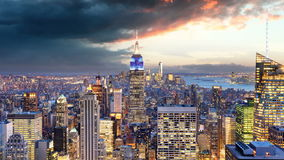 New York City - Time lapse, USA stock footage
