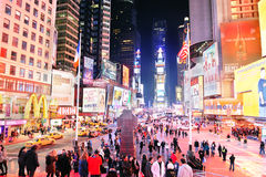 New York City Time Square Royalty Free Stock Photo
