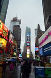 New York City Time Square Royalty Free Stock Photos