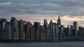 New York City Timelapse stock video