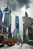 New York City Times Square. With commercials royalty free stock photos