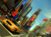 New York City, Times Square Fotografia de Stock Royalty Free