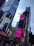 Times Square. New York City Times Square royalty free stock image