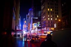 New York City Times Square Royaltyfria Foton