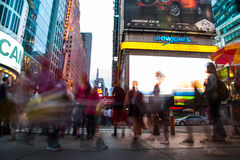 New York City 4 times square Stock Photography