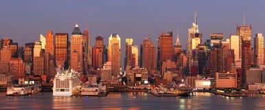 New York City Times Square skyline Stock Photos