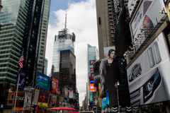 New York City Times Square. View on Times Square, New York City royalty free stock photography