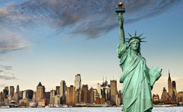 New york city tourism concept Royalty Free Stock Images