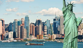 New york city tourism concept Royalty Free Stock Photos