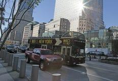 New York City Tourist Bus Royalty Free Stock Photo