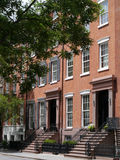 New York City Townhouses near Washington Square Royalty Free Stock Photo