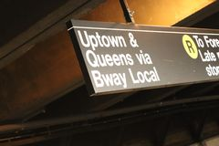 New York City transport royalty free stock images