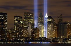 New York City, Tribute In Lights Royalty Free Stock Photo