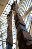 9 11 New York City Twin Tower-Säulen-Spaltenruine zerstört Lizenzfreie Stockbilder