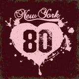 New York City Typography vector Stock Photos