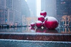 New York City, une estados - dezembro, 9o, 2017 Imagens de Stock Royalty Free