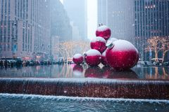 New York City, une los estados - diciembre, 9no, 2017 Imágenes de archivo libres de regalías