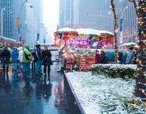 New York City, une los estados - diciembre, 9no, 2017 Fotografía de archivo