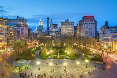 New York City Union Square fotos de archivo