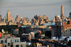 New York City: Upper Manhattan View Royalty Free Stock Images