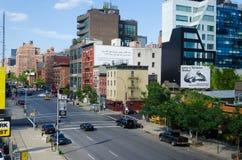 New York city urban buildings Stock Image