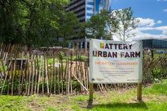 New York City Urban Farm Stock Images