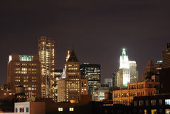 New York City Urban Rooftops Royalty Free Stock Photo