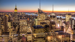 New York City in the USA Royalty Free Stock Photography